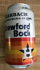 Karbach Brewing Co Krawford Bock Houston Astros Beer Can Hoston Texas