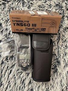 Yongnuo Speedlite YN560-III Aufsteckblitz Neu