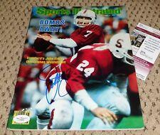 John Elway Signed Sports Illustrated Magazine Autograph Jsa Stanford Football