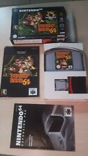 DONKEY KONG NINTENDO 64 n64 PAL fr fah COMPLET TBE EXPANSION PACKet clé boite