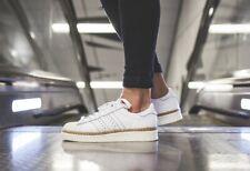 Mujer Adidas Originales Superstar 80s nuevo audaz W Entrenadores Blanco (DA9573)