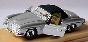 Mercedes Benz 190 Sl Type: W 121 B II Roadster Soft Top 1955-63 Silver 1:43 Rio