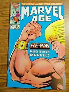 Marvel Age #38 Key F+ Eternals 1st He-Man in Marvel Masters of Universe Skeletor