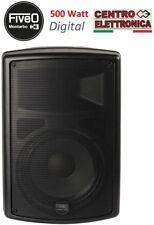 """Montarbo Fiveo D10A Cassa Acustica BI - Amplificata Attiva 10"""" 500W Max."""