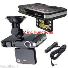 "Multifunction 2.0"" Car DVR Recorder Laser Radar Detector Alarm Dash Cam Camera"