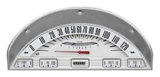 Classic Instruments 1956 Ford F-100 Truck Gauge Panel Cluster Dash Bezel (White)