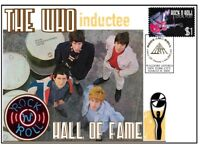 THE WHO ROCK n ROLL HALL OF FAME INDUCTEE COVER