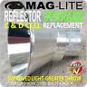 MAGLITE UPGRADE PARABOLIC REFLECTOR FLASHLIGHT TORCH C & D SIZE PATENTED DESIGN