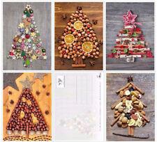 Nostalgisches Weihnachtskarten-Set NOSTALGIE V - Weihnachtsbäume
