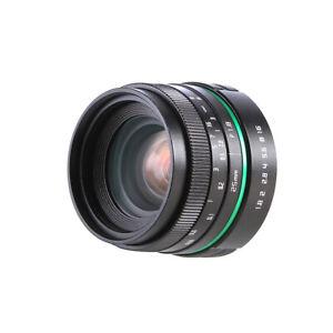 New 25mm F1.8 MF Wide Angle Movie Lens for Fujifilm X-E2/X-E1/X-Pro1/X-M1/X-A2/1