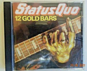 CD - STATUS QUO - 12 GOLD BARS.