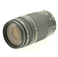 CANON Tele Zoom Lens EF III 75-300mm F4.0-5.6 USM w/ Front and Rear Lens Caps