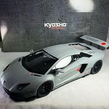1/12 Kyosho OTTO Lamborghini Aventador Coupe LB Performance Matt Gray KSR12502MG