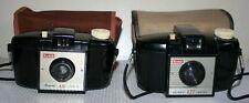 Pair Kodak Brownie 127 - Roll Film Cameras & Cases - Bundle / Job Lot