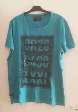 Herren T-Shirt Gr. XL Farbe türkis mit Motiv ▪neuwertig▪