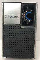 VINTAGE Juliette Solid State Handheld Transistor Radio Collectible
