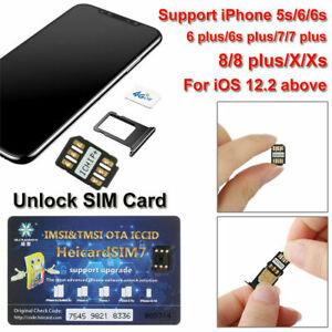 UNLOCK CHIP TURBO SIM -Card for-IPHONE-SPRINT ATT TMOBILE 5S SE 6 6S 7 8 PLUS UK