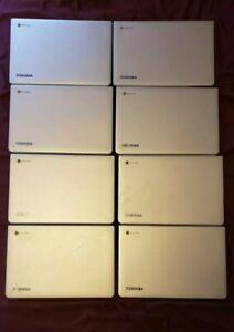 8 Toshiba CB35 - B3340 Chromebook2 for parts or repair