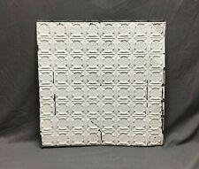 2' x 2' Sq Salvaged Antique Tin Metal Ceiling Decorative Pattern Old Vtg 125-20B