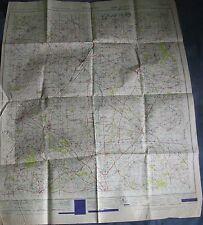 Ordnance Survey Map Sheet Banbury 145 War Office Edn GSGS 1947 Oxford Military