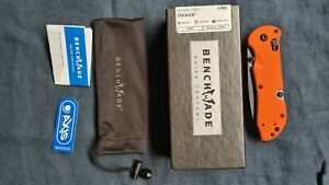 Benchmade Triage Axis folding rescue knife w/Hook, Orange handle 916SBK-ORG