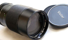 Vivitar 200mm f3.5 Telephoto Lens for Canon Fd and mirrorless Japan Great