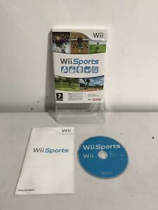 Wii Sports Nintendo Wii Game Console Video Game Complete with manual