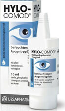 3x Hylo Comod Ursapharm 10ml Hyaluronic  eye drops