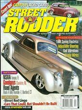 2002 Street Rodder Magazine: Time Saving Electrics/Adjustable Steering/Vibration