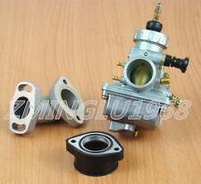 Carburetor W/ Intake Boot Kit Kawasaki KLX110 Suzuki DRZ110 Big Bore Carb VM24