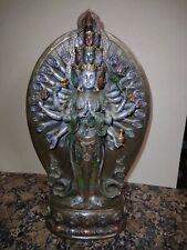 "Avalokiteshvara Boddhisatva Buddha, kwan yin, guan yin,Ksitigarbha 13"" Statue"