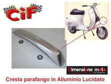 5274 - Cresta Parafango in Alluminio Lucido x Piaggio Vespa 50 Special dal 1969