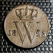 HOLLANDE 1/2 CENT 1823 WILLIAM I SUPERBE