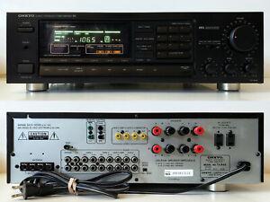 Excellent Vintage Digital Am/Fm Stereo Receiver w/Phono Input 60W Onkyo TX-844