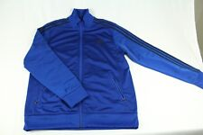 Adidas Track Jacket  Mens Blue large (like new, never worn)