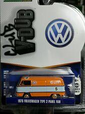 Greenlight 1:64 1975 Volkswagen Type 2 Panel Van #5 GULF Diecast Car Model Toy