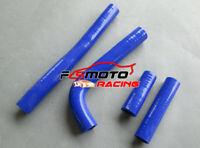 For Yamaha YZ400F/WR400F/YZ426F/WR426F 1998-2002 01 silicone radiator hose blue