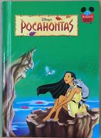 Walt Disney Pooh's Pocahontas HB Book Wonderful World of Reading Grolier 1995