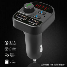 Car Bluetooth Kit FM Transmitter Wireless Radio Adapter USB Charger MP3 Player!!