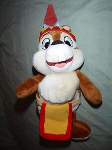 "Disney Frontierland Chip & Dale Chipmunk 9"" Plush Soft Toy Stuffed Animal"