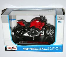 Maisto - DUCATI MONSTER 1200 (Red) - Motorbike Model Scale 1:18
