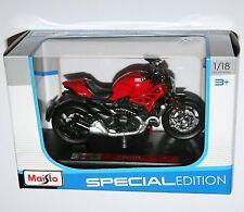 Maisto - DUCATI MONSTER 1200 (Red) - Motorbike Model Scale 1:18
