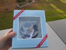 Nib Wedgwood Blue Jasper Tea Cup Ornament New In Box