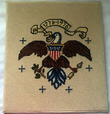 Snowfield Flying /& Resting Eagle HP Design Printed Needlepoint Canvas C#144