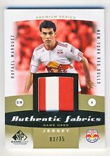 Rafael Marquez 2011 UD SP Game Used Soccer Authentic Fabrics Jersey Card 03/35