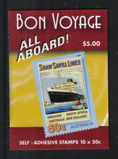 Australia 2004 Travel Posters sa bklt-Attractive Art/Ship Topical (2253a) Mnh