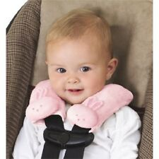 Summer Infant Cushy Straps Baby Carseat Stroller Strap Covers, Pink Bunny
