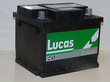 Lucas LC 063 Car Battery VW POLO GOLF CADDY FOX LUPO BORA Petrol Chek Compatible