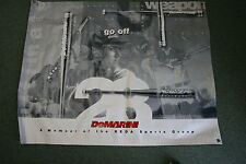 DEMARINI  EXTREMELY RARE 1997 BANNER USED IN STORES