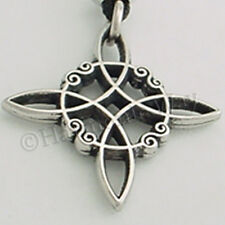WITCH'S PROTECTION KNOT Pendant Wicca Wiccan Necklace